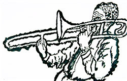 Jazz Trombone Player (#2)
